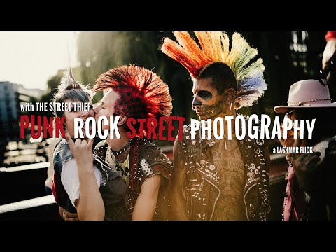 Punk Rock Street Photography in London Camden | Owning the Streets