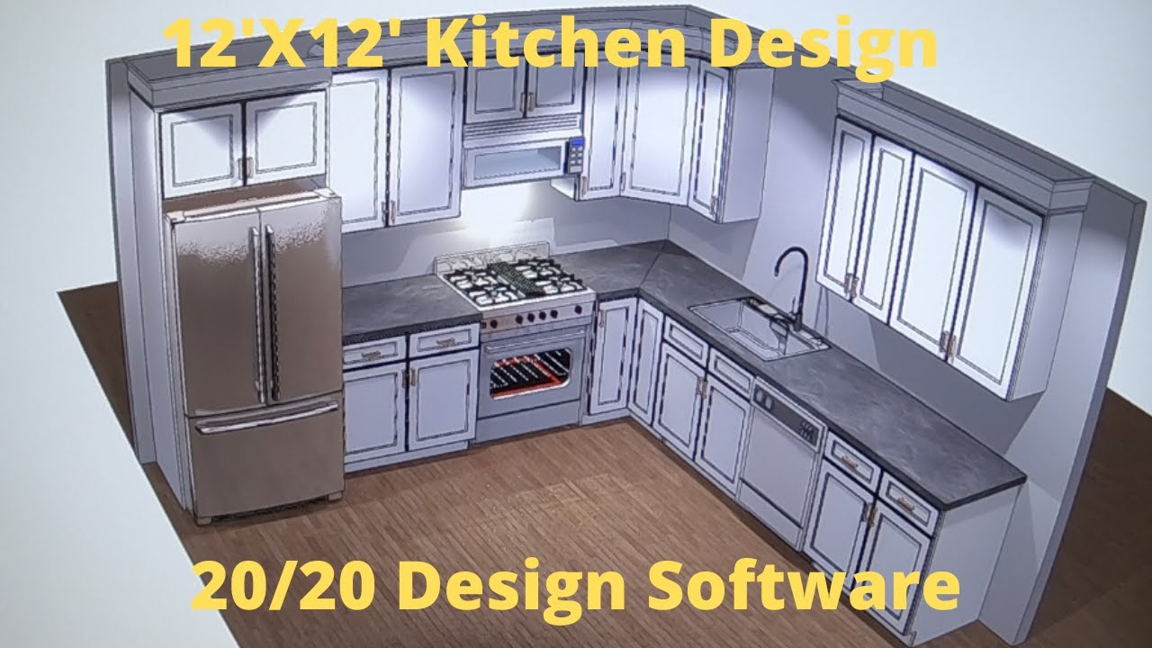 Kitchen Design Using 20 20 Software Youtube