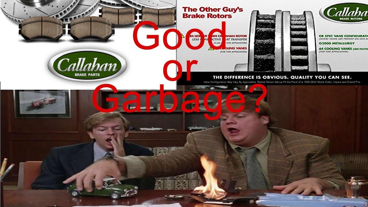 Callahan Brakes - Good or Garbage? - See install and results