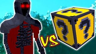 MORTE VS. LUCKY BLOCK TEXTMONSTER (MINECRAFT LUCKY BLOCK CHALLENGE)