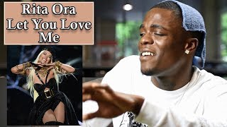 Rita Ora - Let You Love Me Live | Oso's Reaction