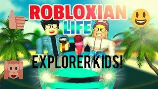 Playing Robloxian Life | Roblox Video