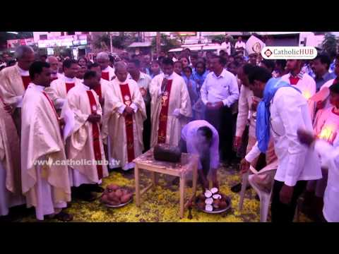 """""""Procession of Mother Mary"""" @ Cathedral Church,Kurnool,AP,INDIA,31-10-16"""