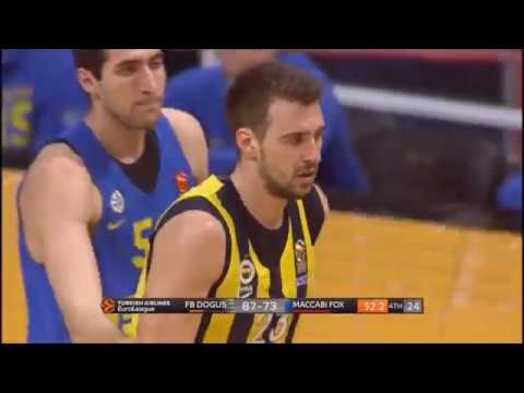 Marko Guduric's 23 Points Against Maccabi Tel Aviv