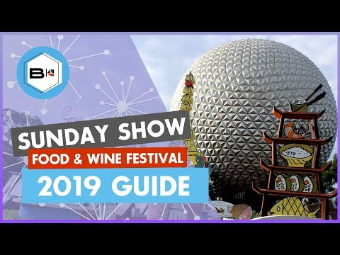 Guide to the 2019 Epcot Food & Wine Festival