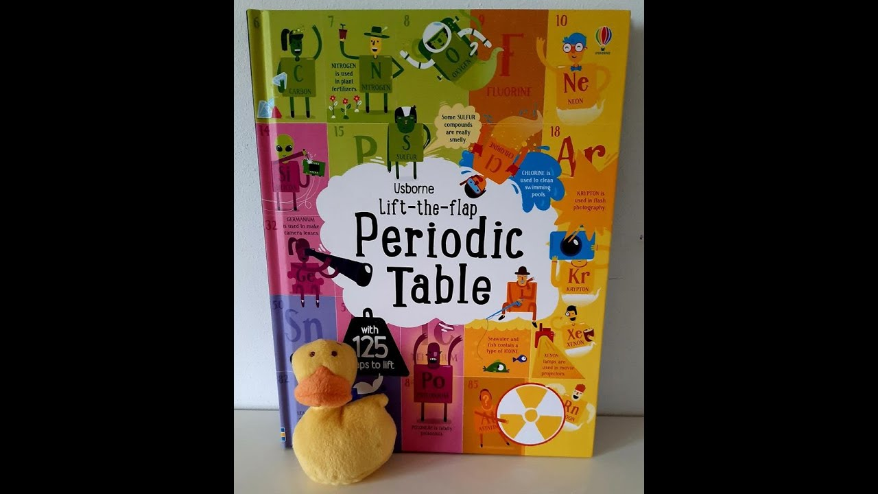 Lift the flap periodic table usborne youtube lift the flap periodic table usborne gamestrikefo Image collections