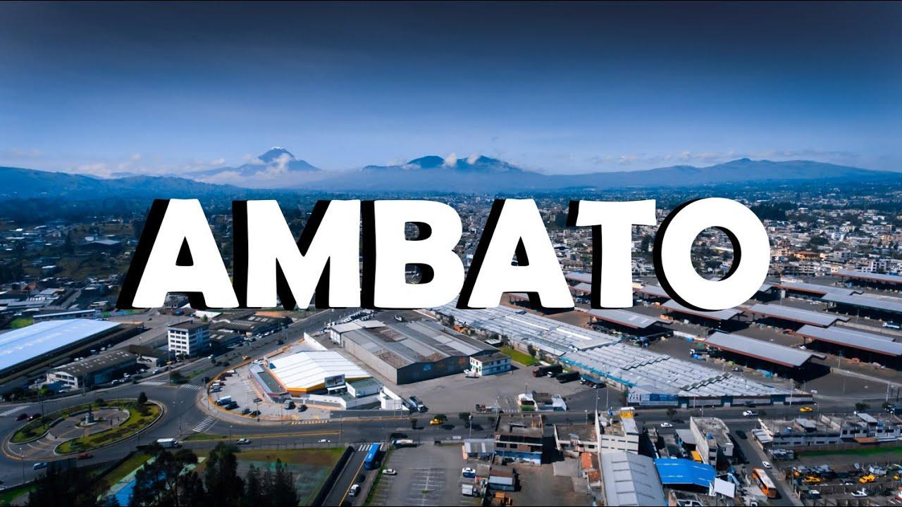 Download AMBATO, ECUADOR 2020 (Video De Drone) | AdrianJC593