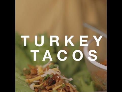 HEALTHY RECIPE » Turkey Taco Lettuce Wraps