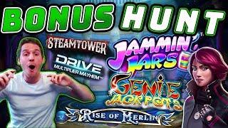 Bonus Hunt Results 28-06-19 - 15 Slot Features