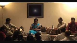 "Anuja Panditrao sings a natya geet ""Kiti Kiti Sangu Tula"""