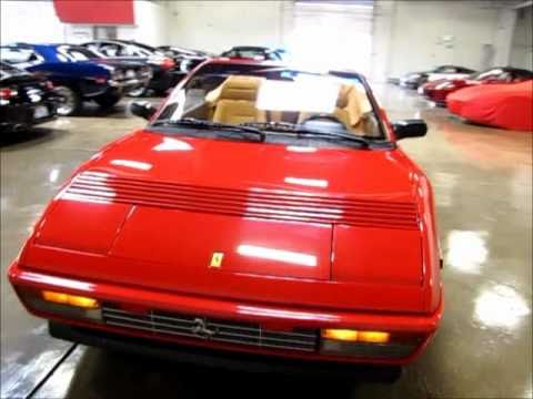 1992 ferrari mondial t cabriolet for sale youtube. Black Bedroom Furniture Sets. Home Design Ideas