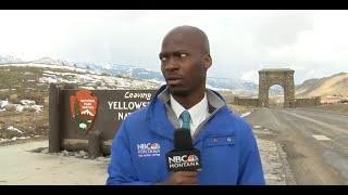NBC Montana's Deion Broxton speaks about his bison encounter