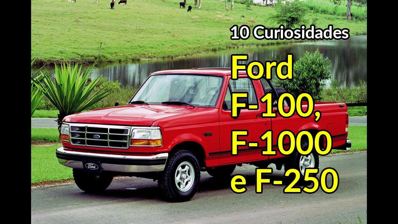 Ford F-100, F-1000 e F-250: grandes picapes em 10 curiosidades | Carros do Passado | Best Cars