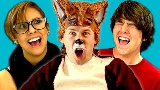TEENS REACT TO YLVIS - THE FOX thumbnail