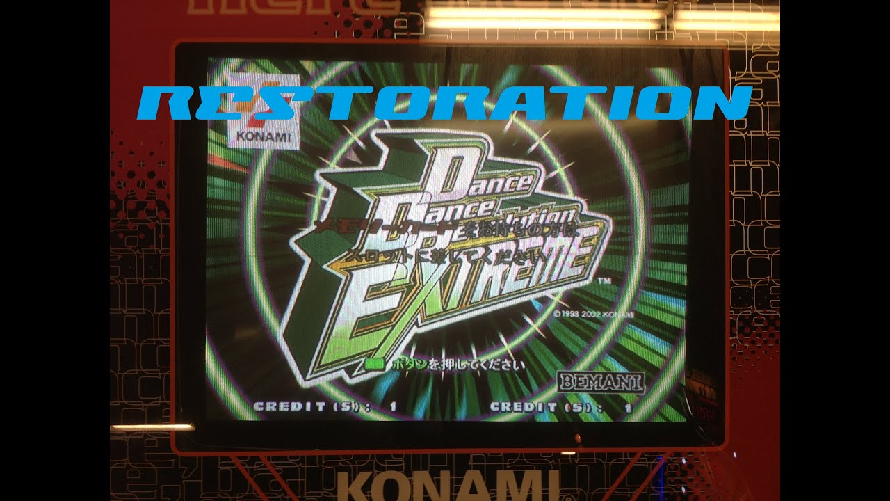 The DDR Machine Restoration - YouTube