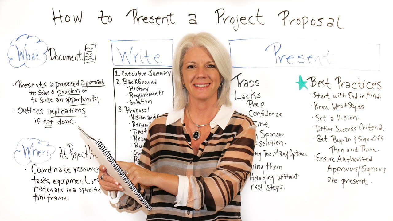 How To Present A Project Proposal - Project Management Training