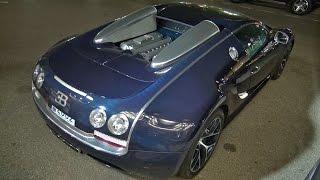 Bugatti Veyron 16.4 Grand Sport Vitesse on the Road in Monaco!