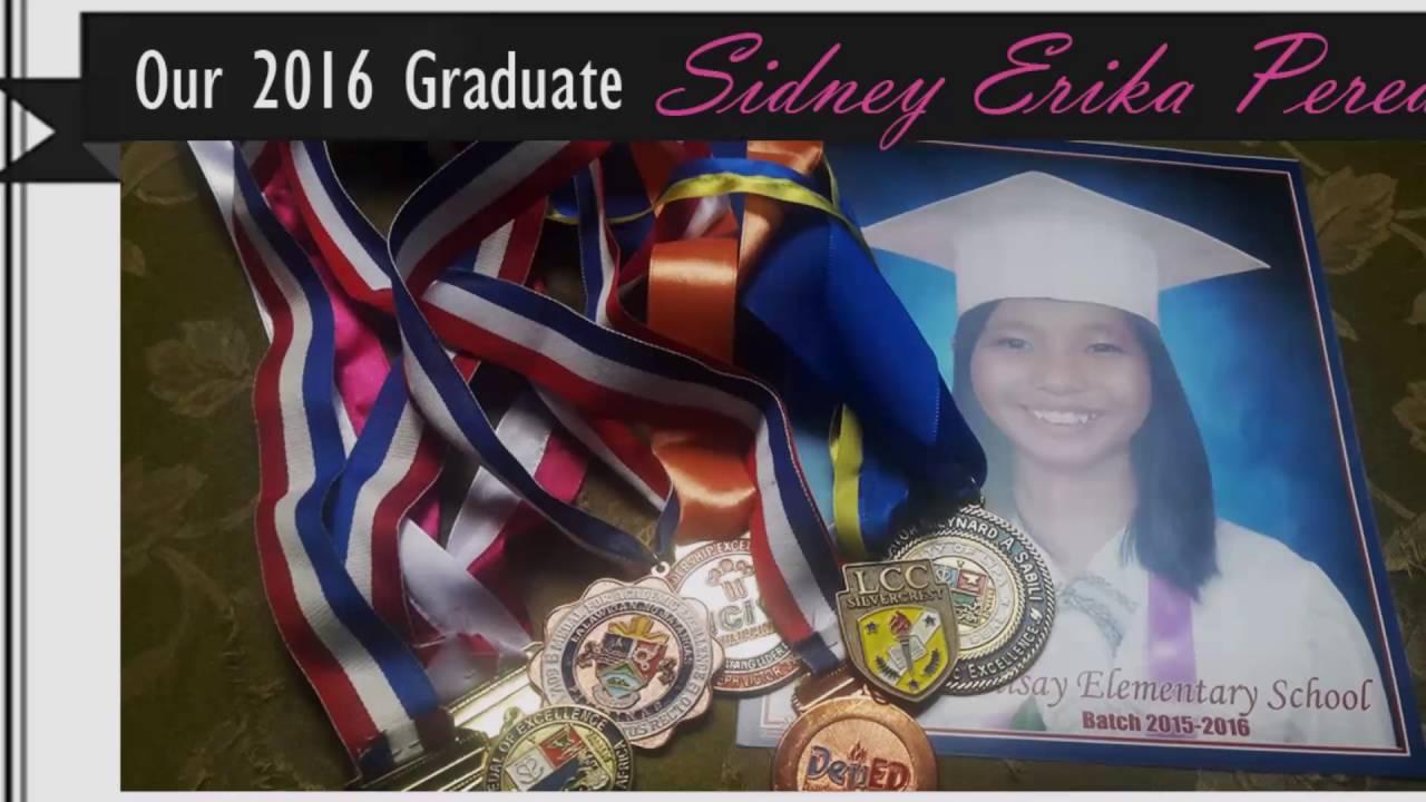 7394e951b7d Sidney TES Grade 6 Graduation SY 2015-2016 - YouTube