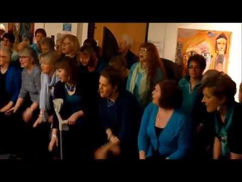 Alive & Kickin Choir at Theatr Brycheiniog, Brecon