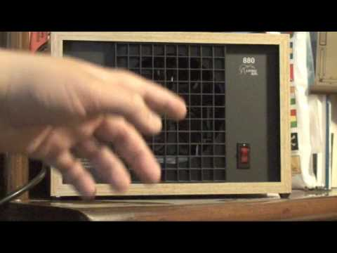living air 880 ozone purifier youtube