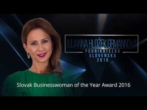 Business woman of Slovakia 2016 - English subtitles