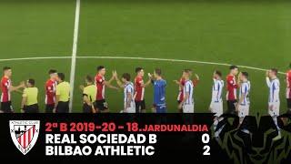 ⚽ Resumen I J18 2ªDiv B I Real Sociedad B 0-2 Bilbao Athletic I Laburpena