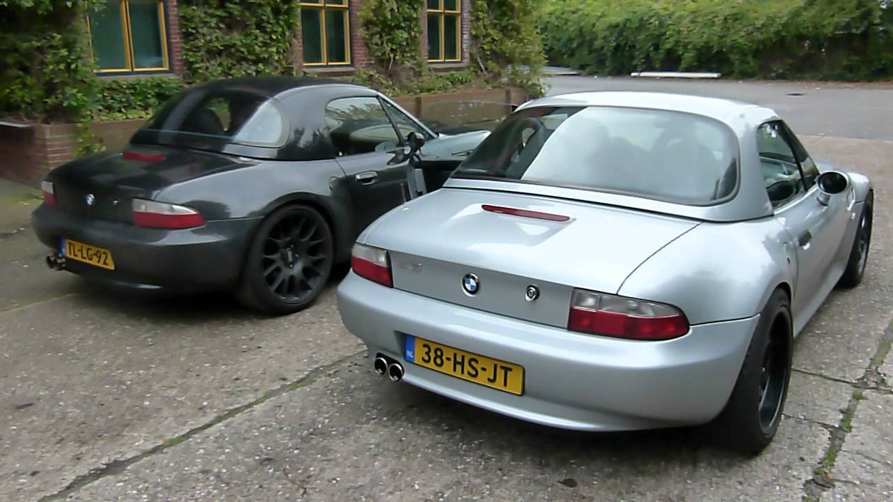 Bmw Z3 2 8 Roadster With Modified Eissenmann Exhaust Eps Uitlaten Bv Youtube