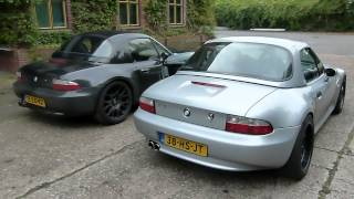 BMW Z3 2.8 Roadster with Modified Eissenmann exhaust - EPS Uitlaten BV -
