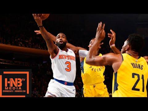 Indiana Pacers vs New York Knicks Full Game Highlights | 10.31.2018, NBA Season
