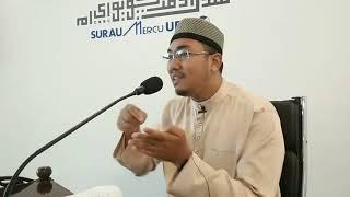 Kewajipan Menutup Aib Sendiri & Aib  Orang Lain!! Ustaz Wan Abdul Halim