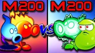 Plants vs Zombies 2 Fire Pea 200 vs Electric Pea 200 vs Shadow Pea 200 vs Laser Bean 200 Mastery Pvz