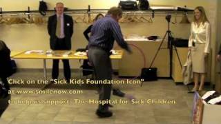 Friends of Smile Solutions Orthodontists Dance for the Hospital for Sick Children