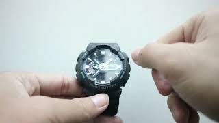 HOW TO CREATE THE GSHOCK HOUR GA 110