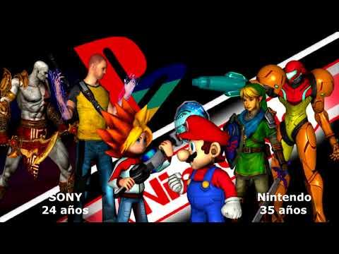 SONY vs Nintendo | Comparamos las ventas totales de cada una | Opinión y realidad
