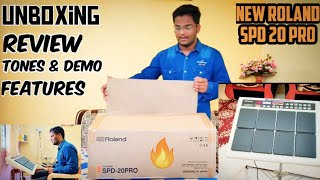 First Time Buy | Roland Spd20pro Unboxing | Review | Tone & Testing | Himanshu Kapse |