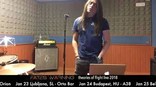 FATES WARNING - Theories of Flight Live 2018