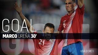 MNT vs. Costa Rica: Marco Ureña Goal - Sept. 1, 2017