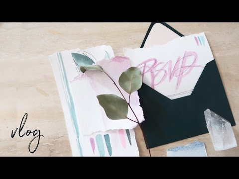 Wedding Stationery Design + Vegan Food ♥ Paige Poppe, Artist