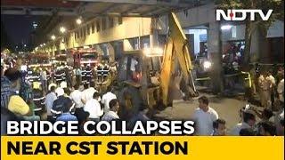 Foot Overbridge Collapses Near Mumbai
