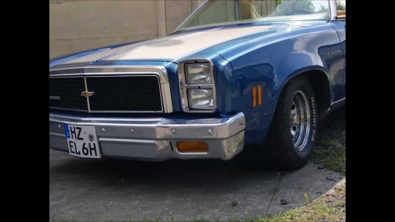 Chevrolet EL CAMINO classic car Oldtimer PICK UP