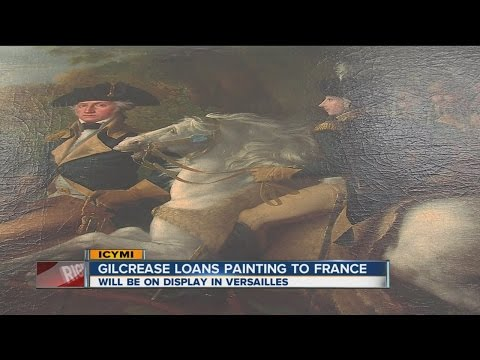 Gilcrease Museum loans painting to Versailles in France