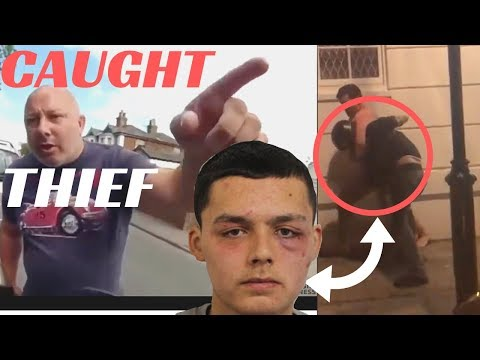 LAWLESS LONDON ROAD RAGE | BIKE THIEF gets BLACK EYE JUSTICE