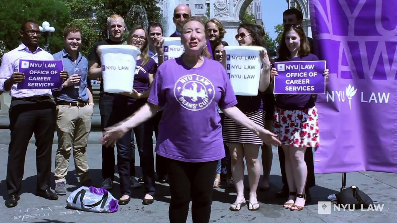 ALS Ice Bucket Challenge: NYU Law Office of Career Services