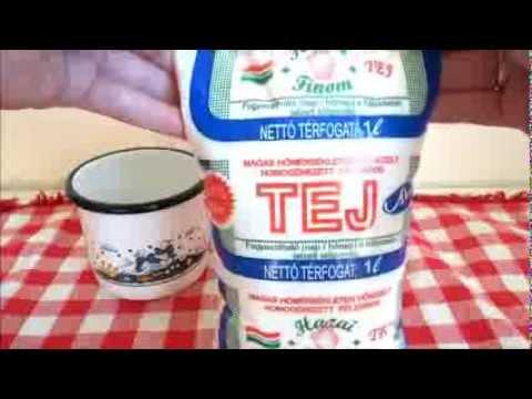 Magyar Nosztalgia - Zacskós Tej Hungarian Nostalgia Sachet milk & country-style cup