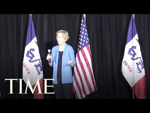 Elizabeth Warren Says Trump 'May Not Even Be A Free Person' By 2020 | TIME Mp3