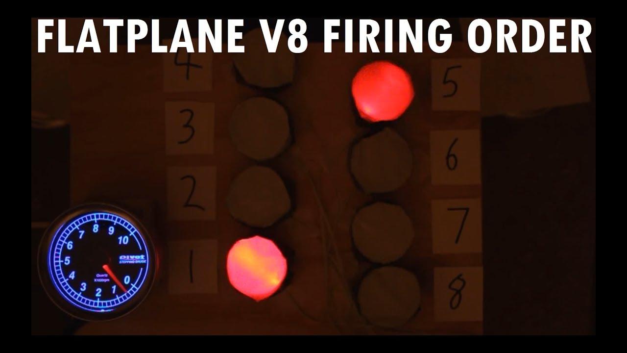 Ferrari v8 firing order
