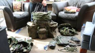 British army bergan kit (ideal for cadets)