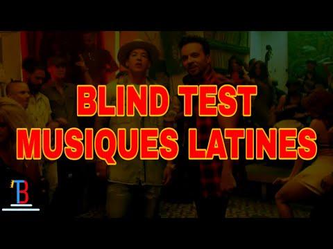 BLIND TEST MUSIQUES LATINES DE 50 EXTRAITS  (AVEC RÉPONSES)
