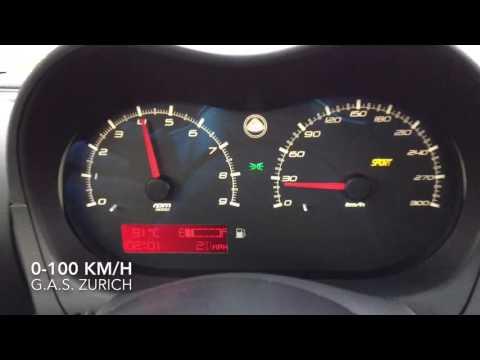 Lotus Elise CR S3 0-100 km/h acceleration