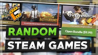 GameOdds.gg - MYSTERY BUNDLES STEAM KEY OPENING (Random Steam Games #7)